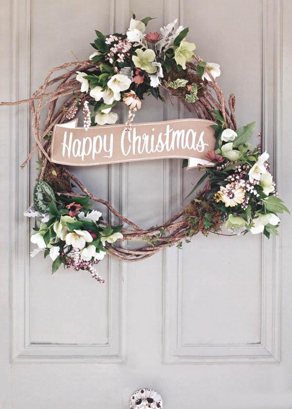Cute Crisp Wallpapers 30 Breathtaking Shabby Chic Christmas Decorating Ideas