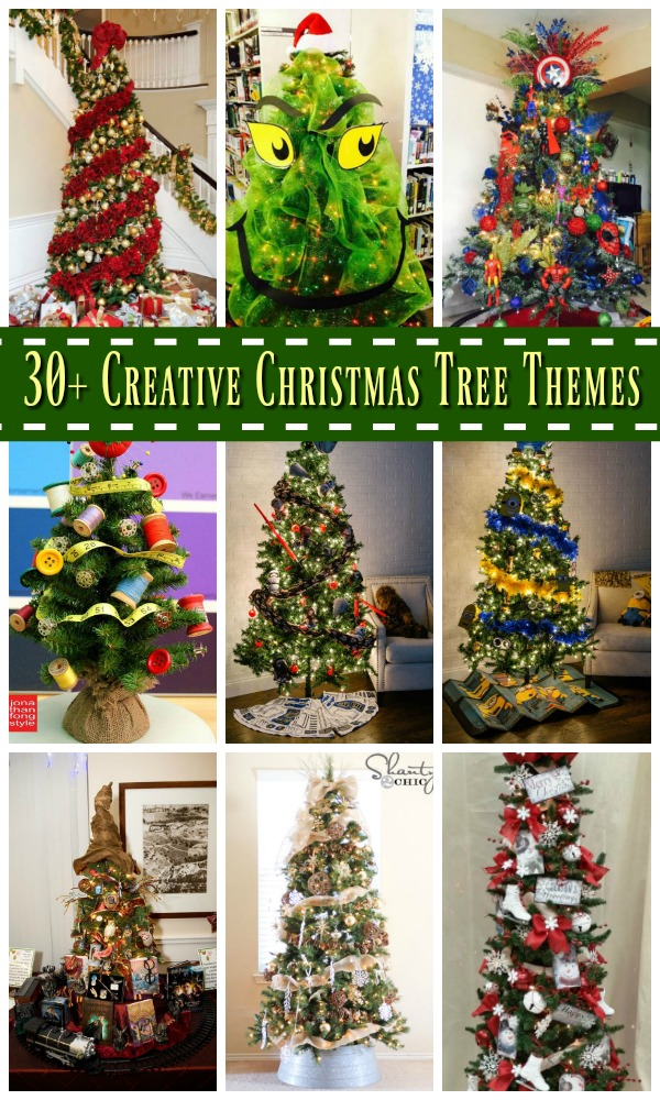 30+ Creative Christmas Tree Theme Ideas - All About Christmas - christmas themes images