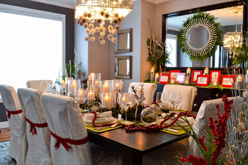 25 Popular Christmas Table Decorations on Pinterest - All About - christmas table decorations pinterest