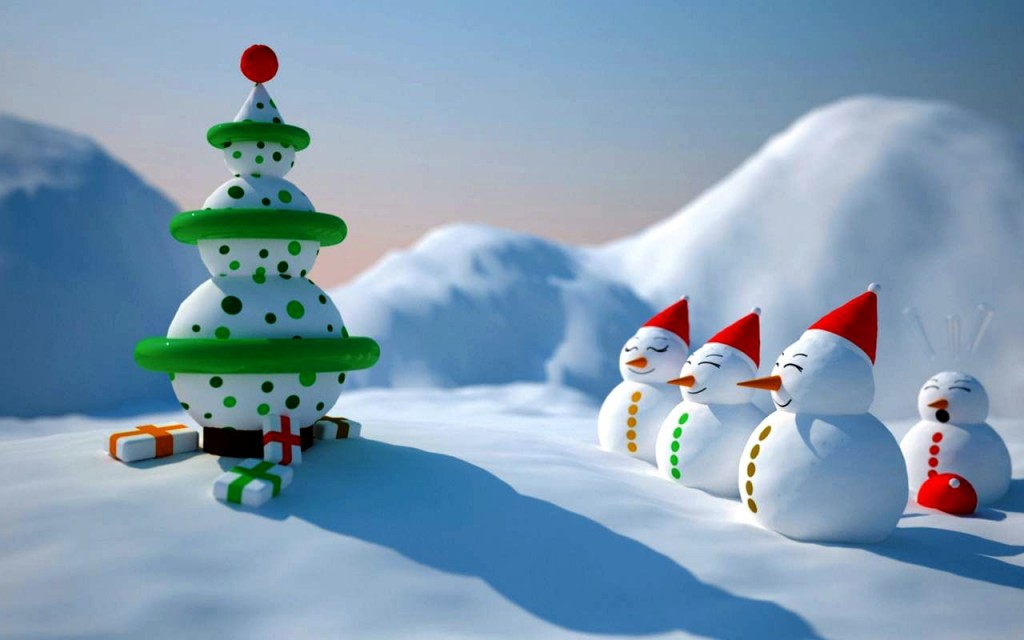 40 Super cool Christmas Screensavers - All About Christmas