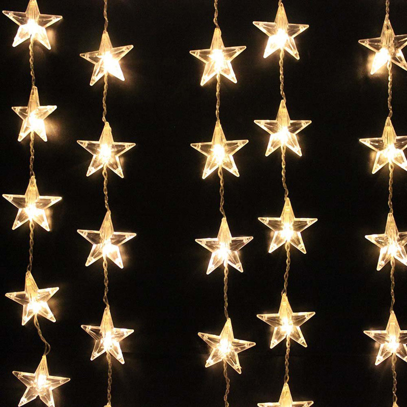 star light christmas decoration - Rainforest Islands Ferry - christmas star decorations