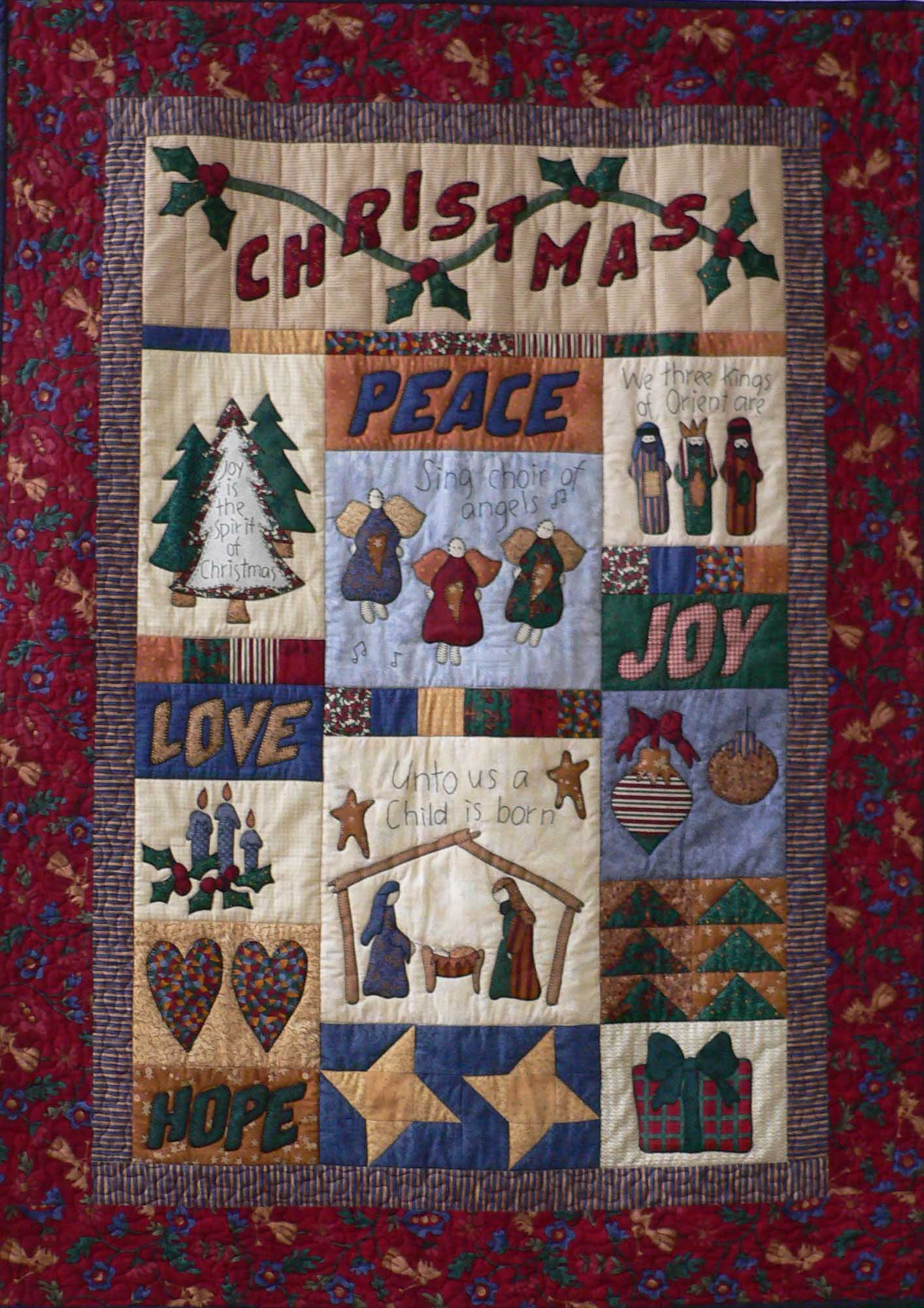 Pinterest Christmas Quilted Wall Hangings All About Christmas Because Everyday Is Christmas Day