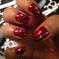 DIY Christmas Nails - Christmas Do It Yourself