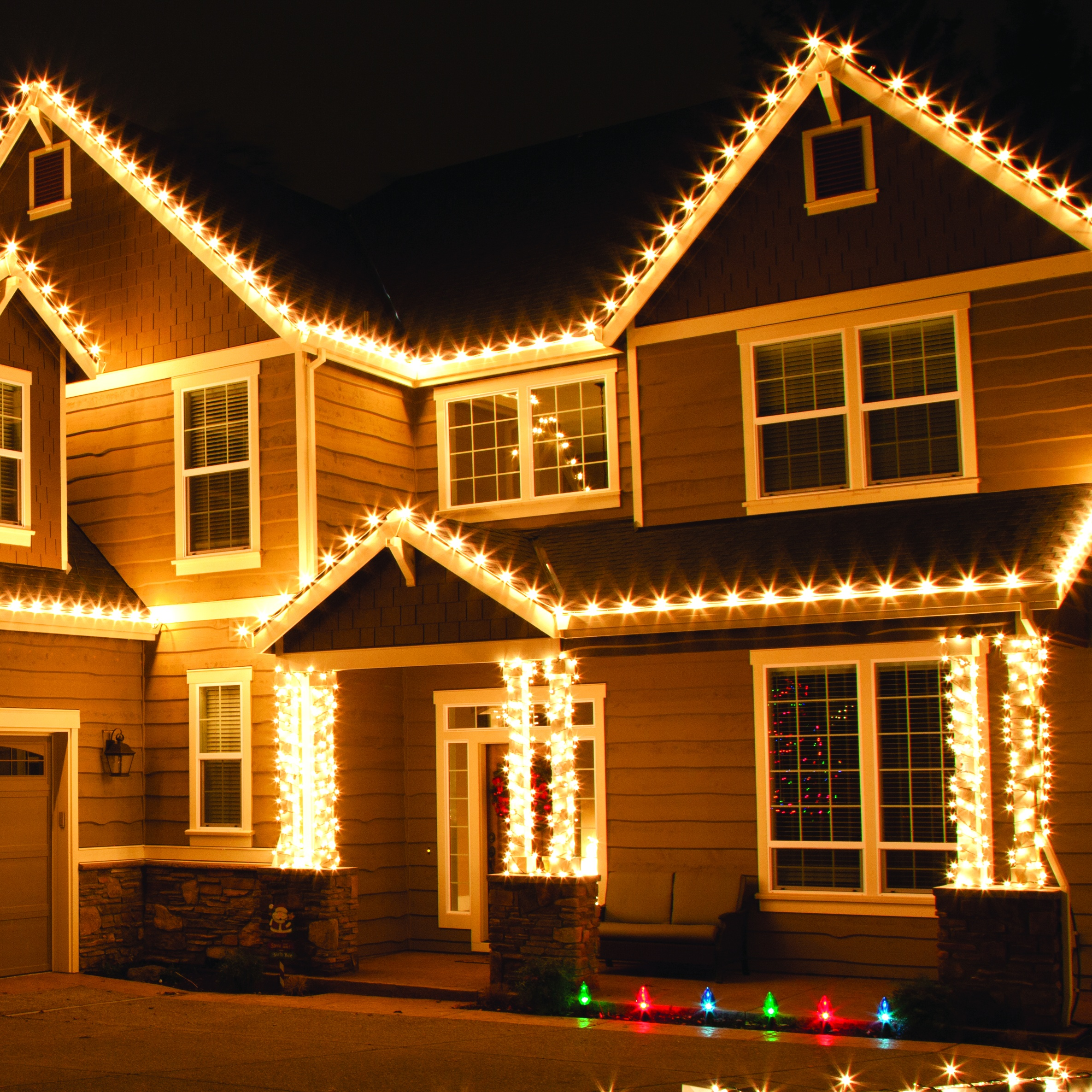Multicolor Led Strip Outdoor Christmas Lights