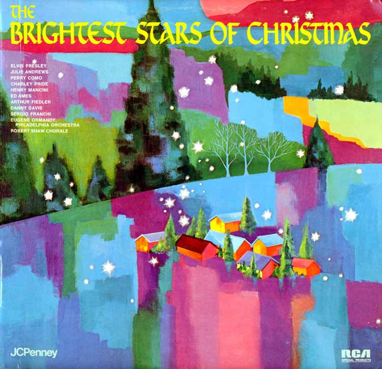 Full Set JC Penney Christmas Recordings - Christmas Vinyl Record