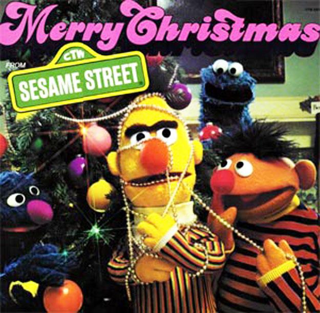 Sesame Street Merry Christmas on (CTW25516) - Christmas Vinyl