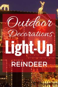 Best 28+ - Light Up Reindeer Outdoor Decoration - decorate ...