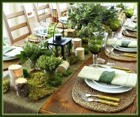 Rustic Table Setting Archives | Christmas Tablescape Decor