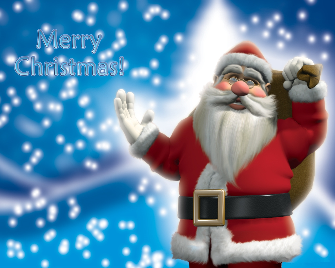 Happy New Year 2016 3d Wallpaper For Pc Santa Claus Christmas Wallpapers Christmaswishes123
