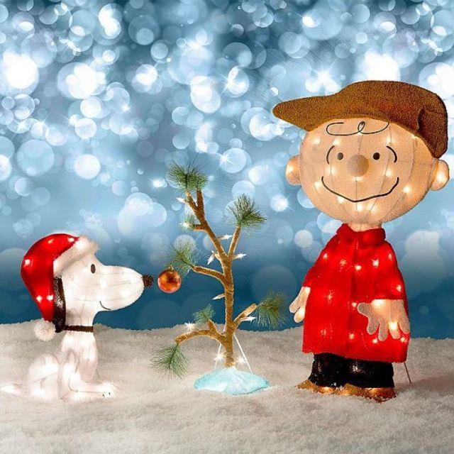 Snoopy Outdoor Christmas Decorations peanuts christmas yard - peanuts outdoor christmas decorations