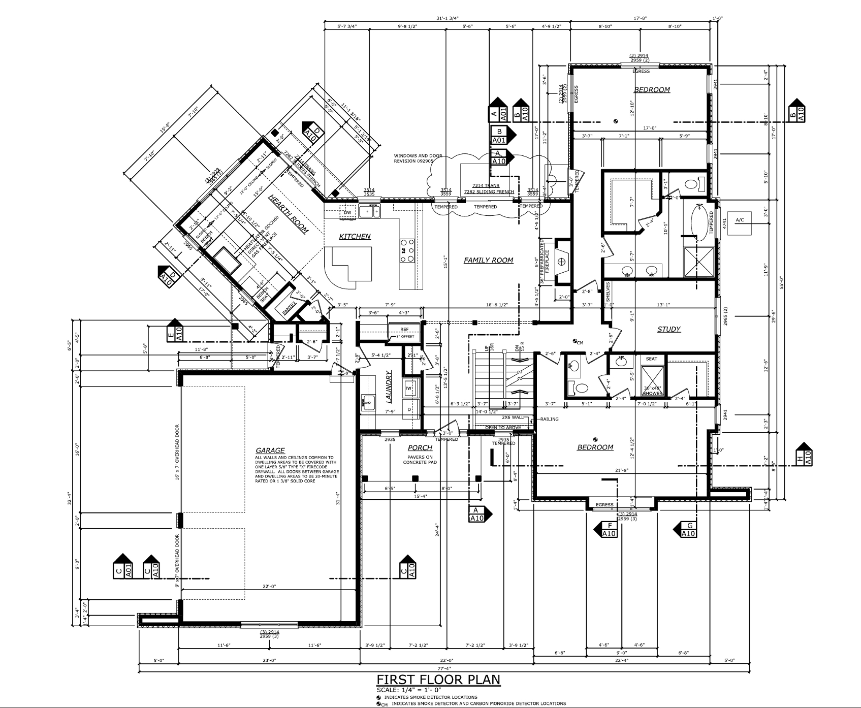 Drawing Plans For House Residential Drawings Professional Portfolio