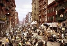 Mulberry Street NYC circa 1900