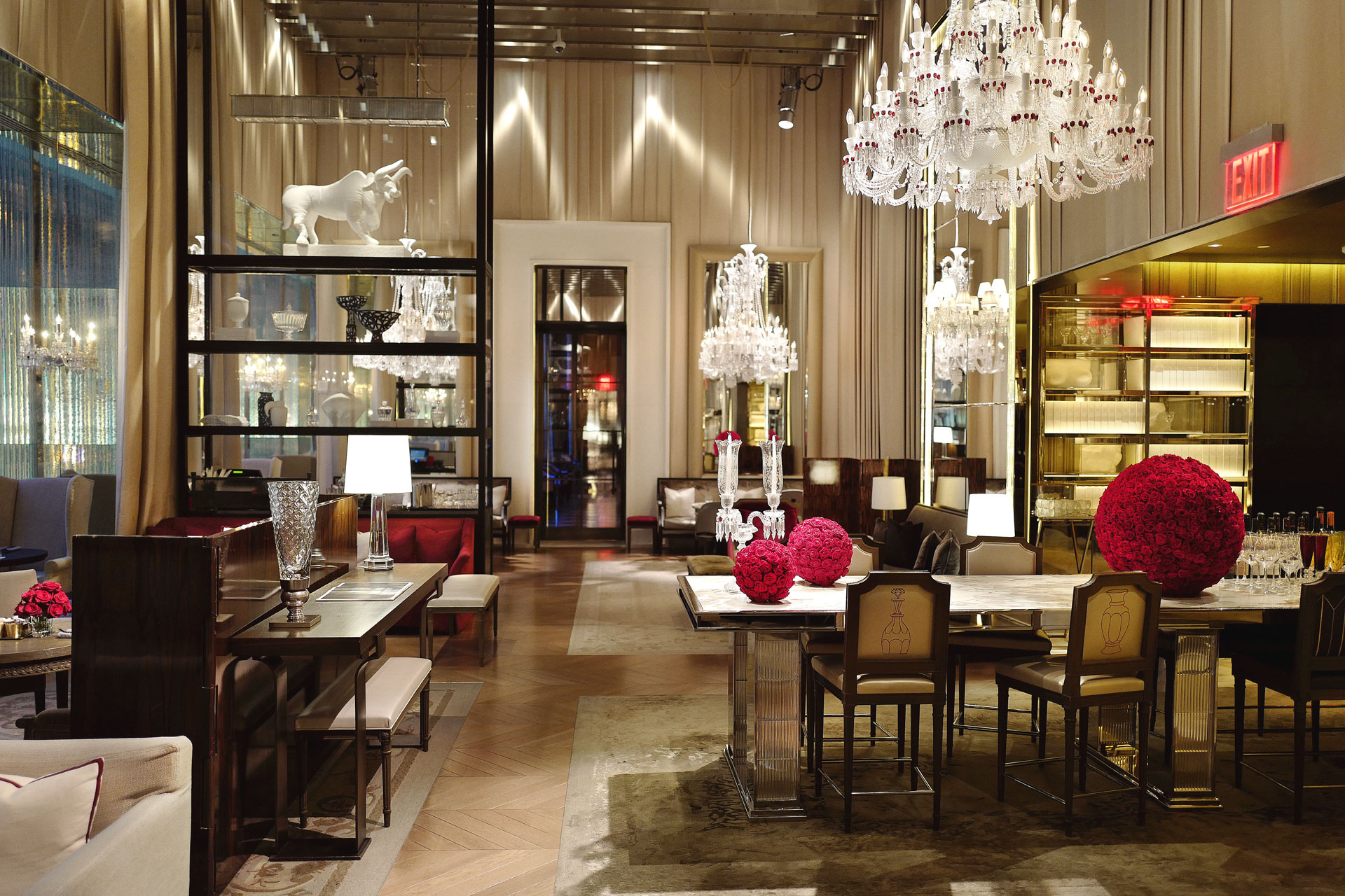 Grand Salon The Beauty Of The Baccarat Hotel In My Words Christopher R King