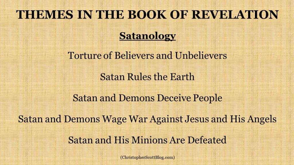 Satanology in the Book of Revelation