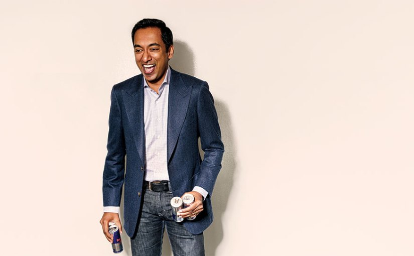 """I want a thousand 100-person companies"": a few notes on my part of a profile on Curalate CEO Apu Gupta"