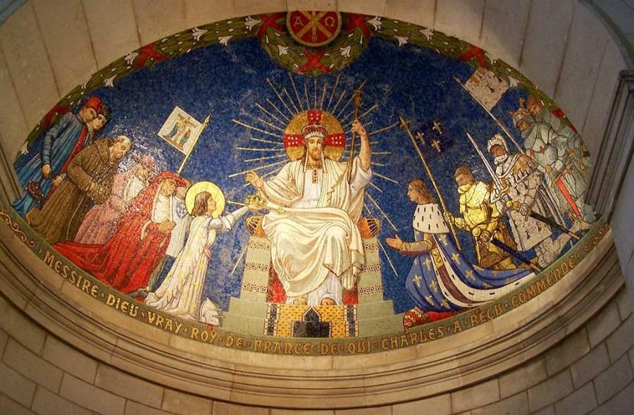 Christ Roi de France Basilique Domremy