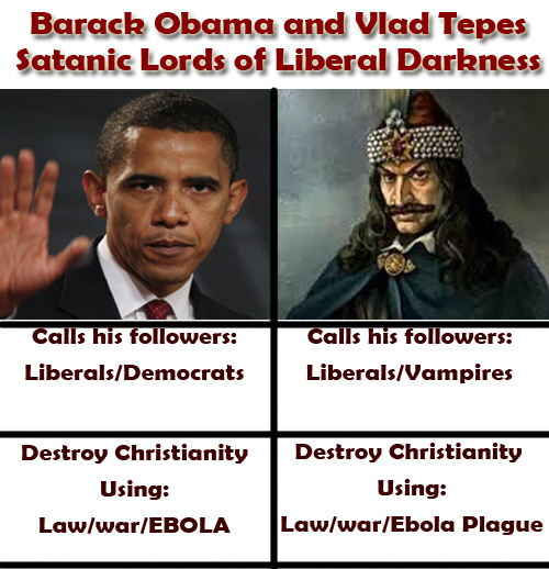 ebola obama vlad tepes vampires