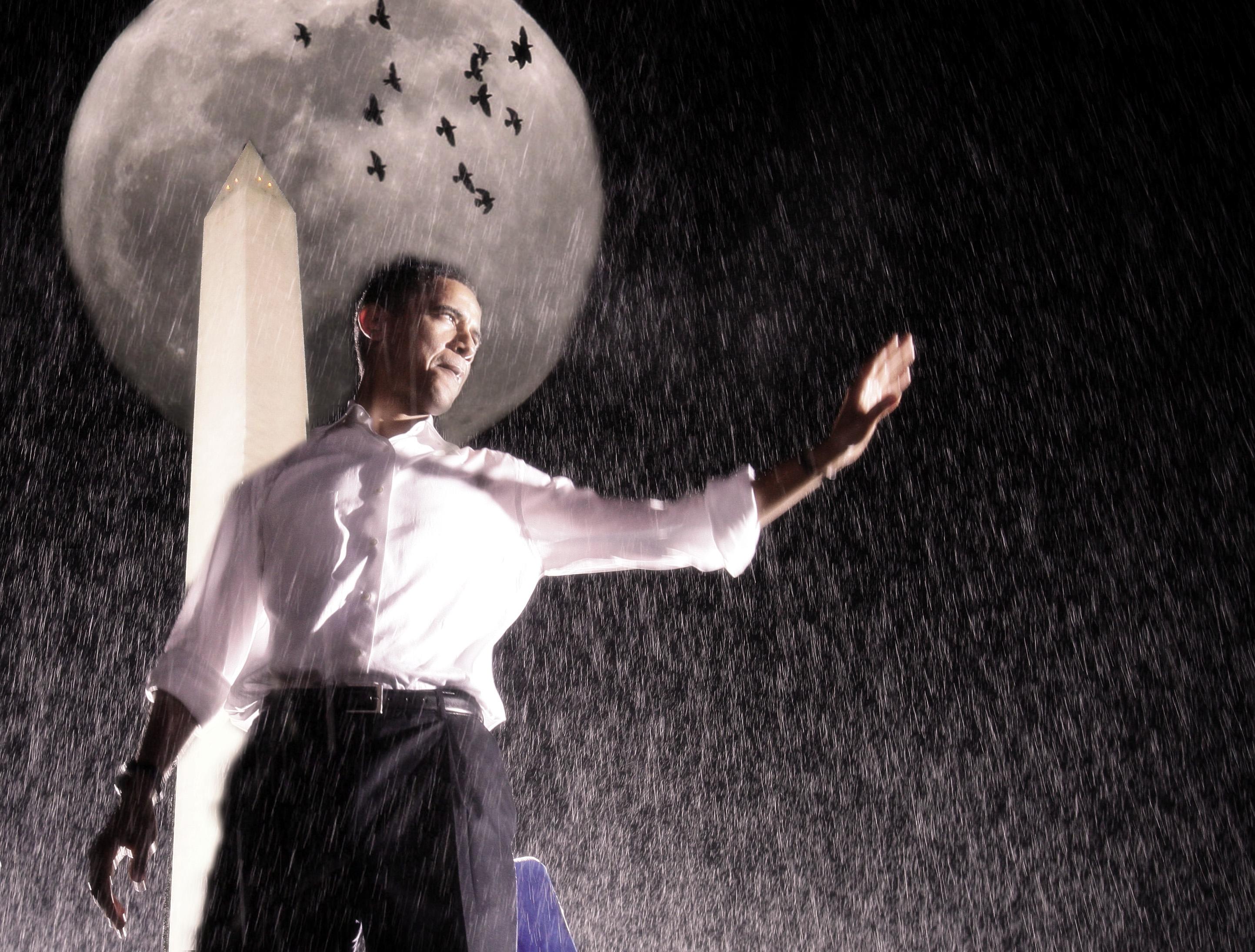 obama supermoon