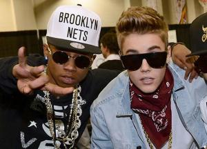 Bieber has inticed a black into his gay life.