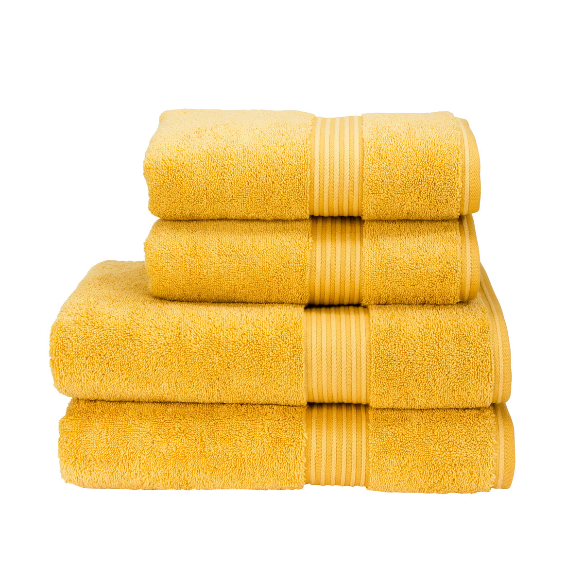 Yellow Towels Christy Supreme Hygro Samba Sun Yellow Towels Christy