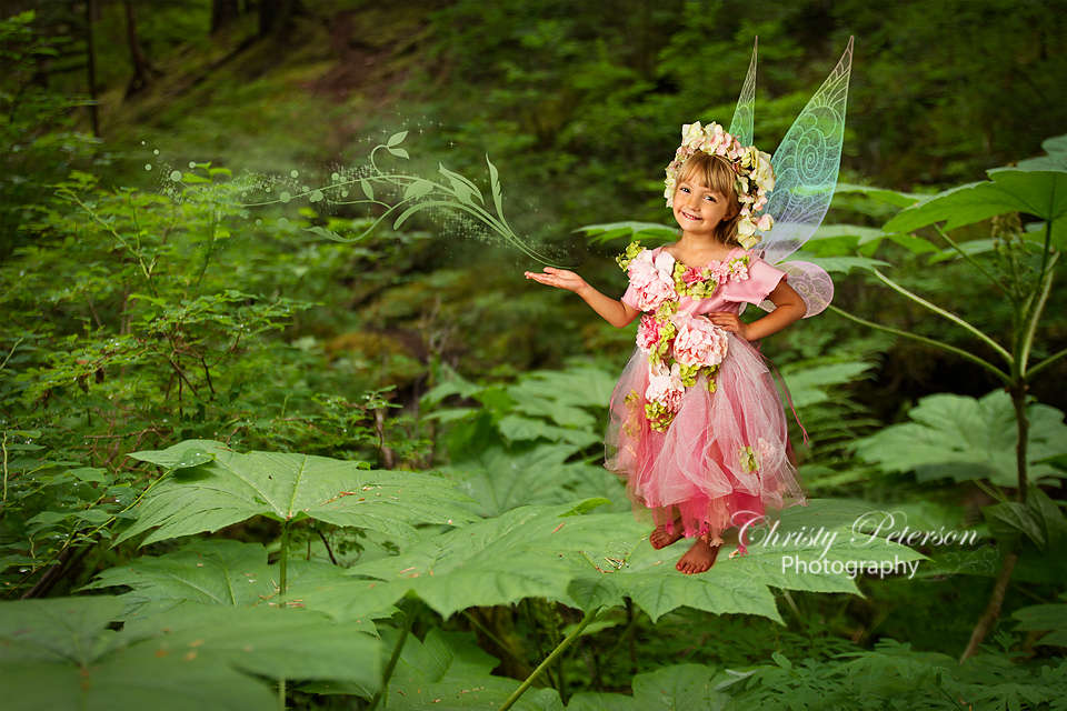 Blonde Girl In The Woods Wallpapers Devil S Club Leaf Christy Peterson