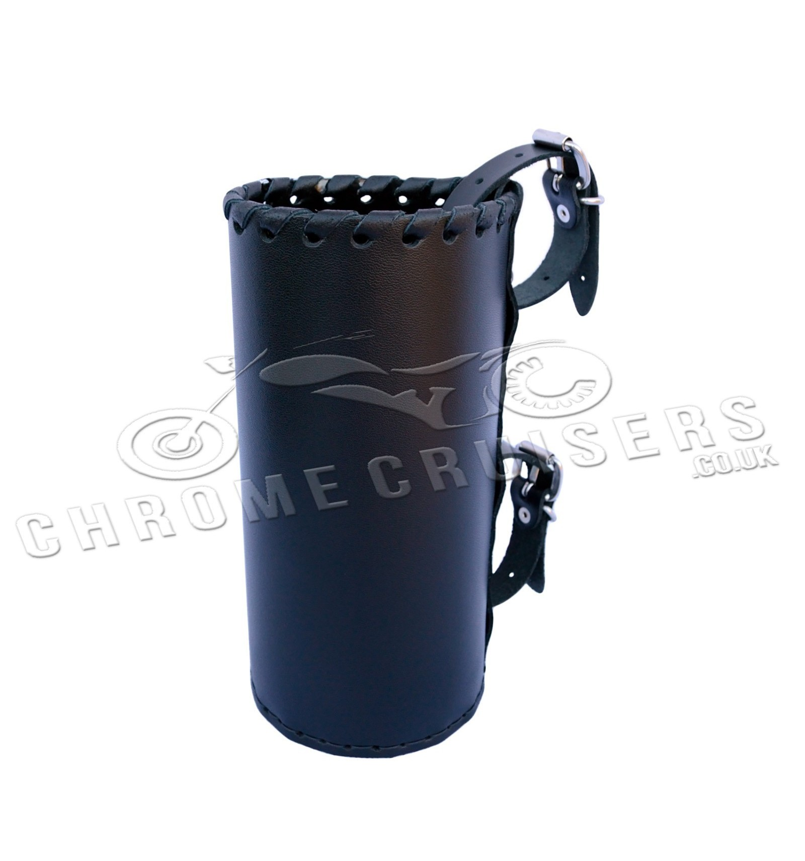 Motorcycle Leather Drink Holder Large N4a Chrome