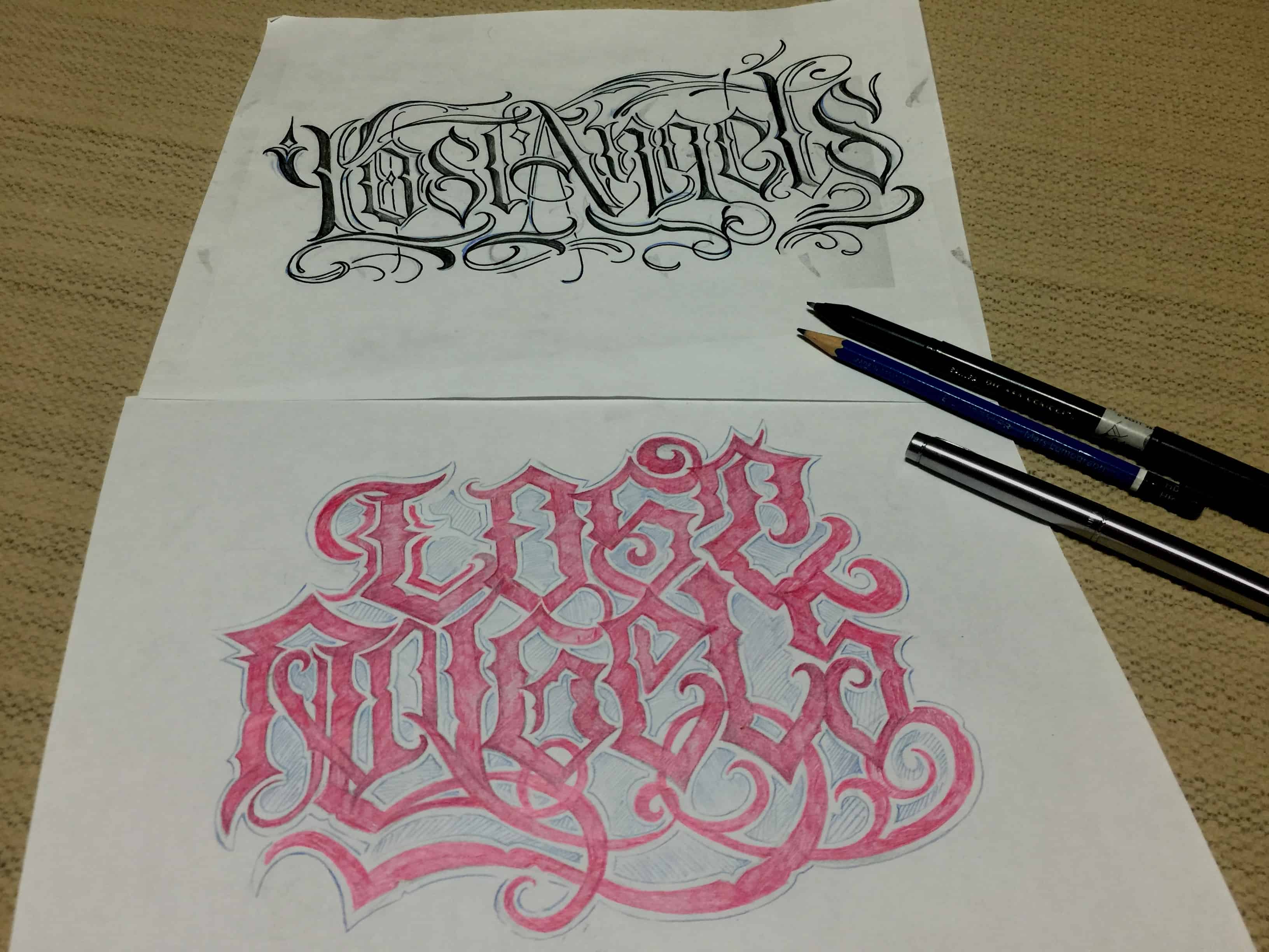 Calligraphy Tattoo Artist Toronto Custom Lettering What You Need To Know Chronic Ink