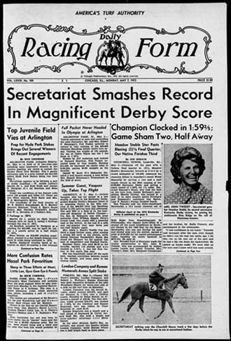 Library Blog Daily Racing Form online archive (USA) - racing form