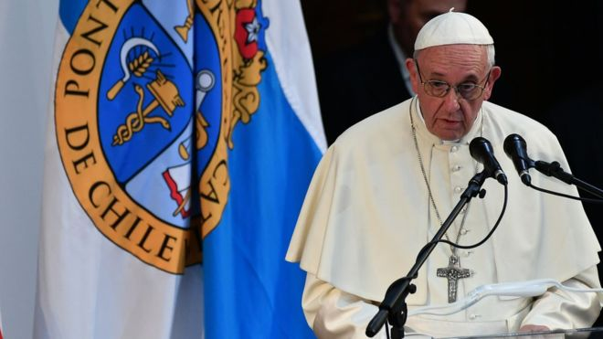 Pope Francis has angered victims of clerical sex abuse with his comments