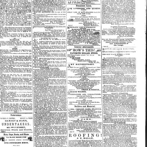 Daily national Republican (Washington City DC) 1870-1872, March