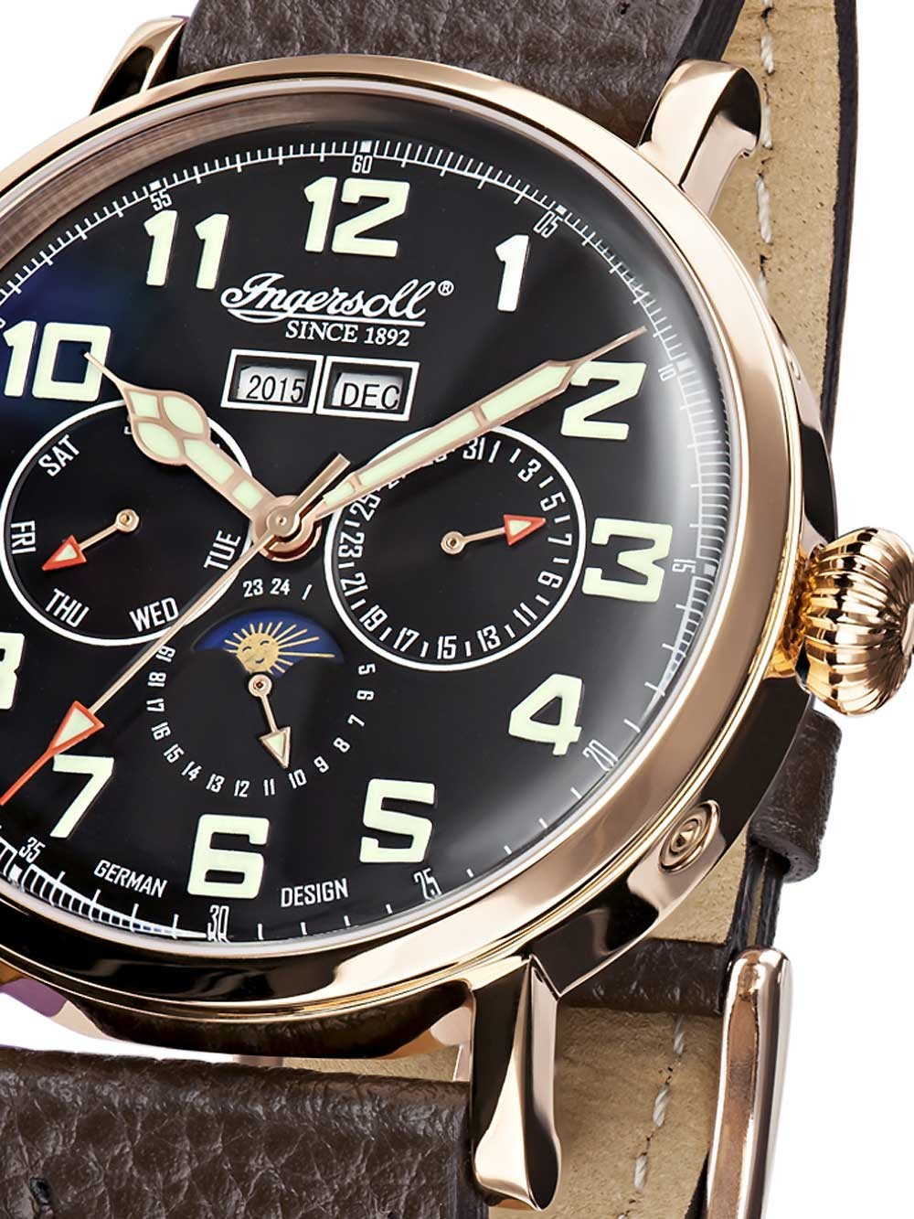Ingersoll Automatik Watches Chrono12 Ingersoll De Weerd In1917rbk Automatik 44mm