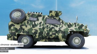 Chronos Studeos Igirigi Armoured Personnel Carrier Visualization 6