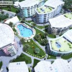 Chronos Studeos Ikoyi Residential Development 3D Visualization Aerial View