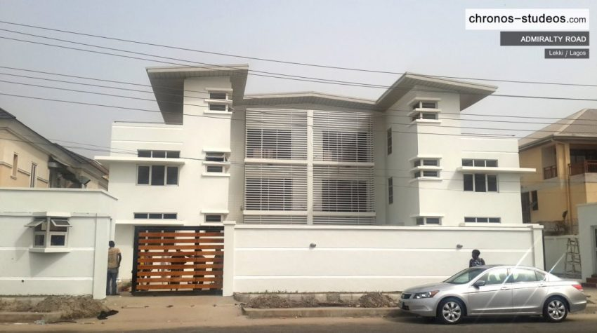Admiralty Road Architectural Exterior 3D Architectural Visualizations by Chronos Studeos Luxury living in Lekki Lagos Nigeria