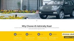 Chronos Studeos Web Design for 45 Admiralty Road - Designed & Constructed to give the best User Experience - Google Chrome