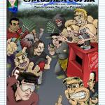 The 20th Anniversary cover to the 1st issue of Chris' Crusher Comics - AKA ChrusherComix for short!