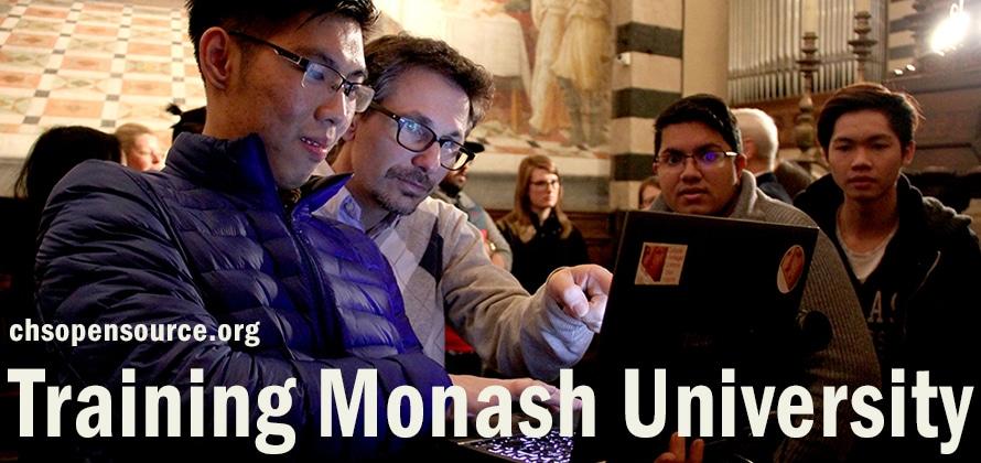 Training monash university