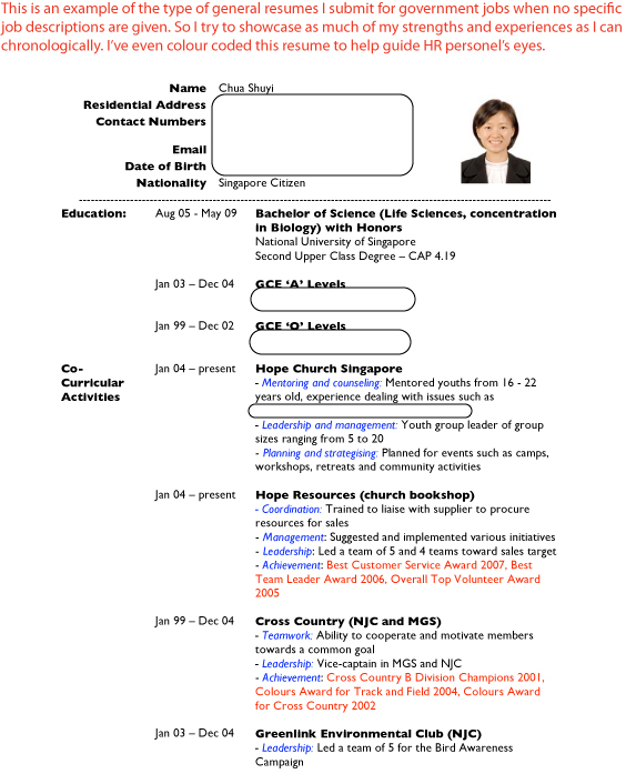 sample resumes Job Hunter\u0027s Guide