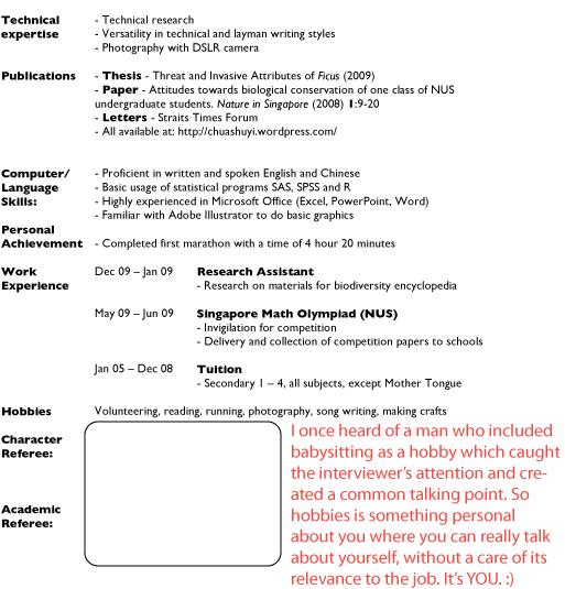 sample resumes Job Hunter\u0027s Guide - conservation officer sample resume