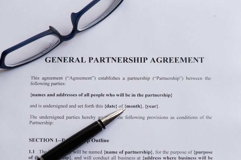 Business Divorce with a Bare Bones General Partnership Agreement - general partnership agreements
