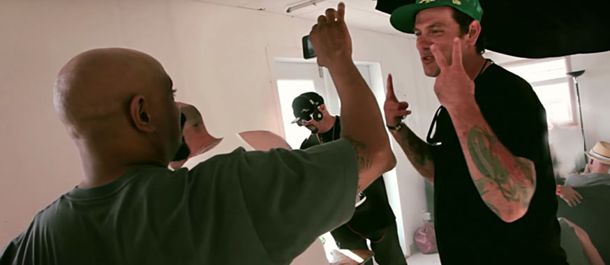 Chuck Hughes cooks for Cypress Hill