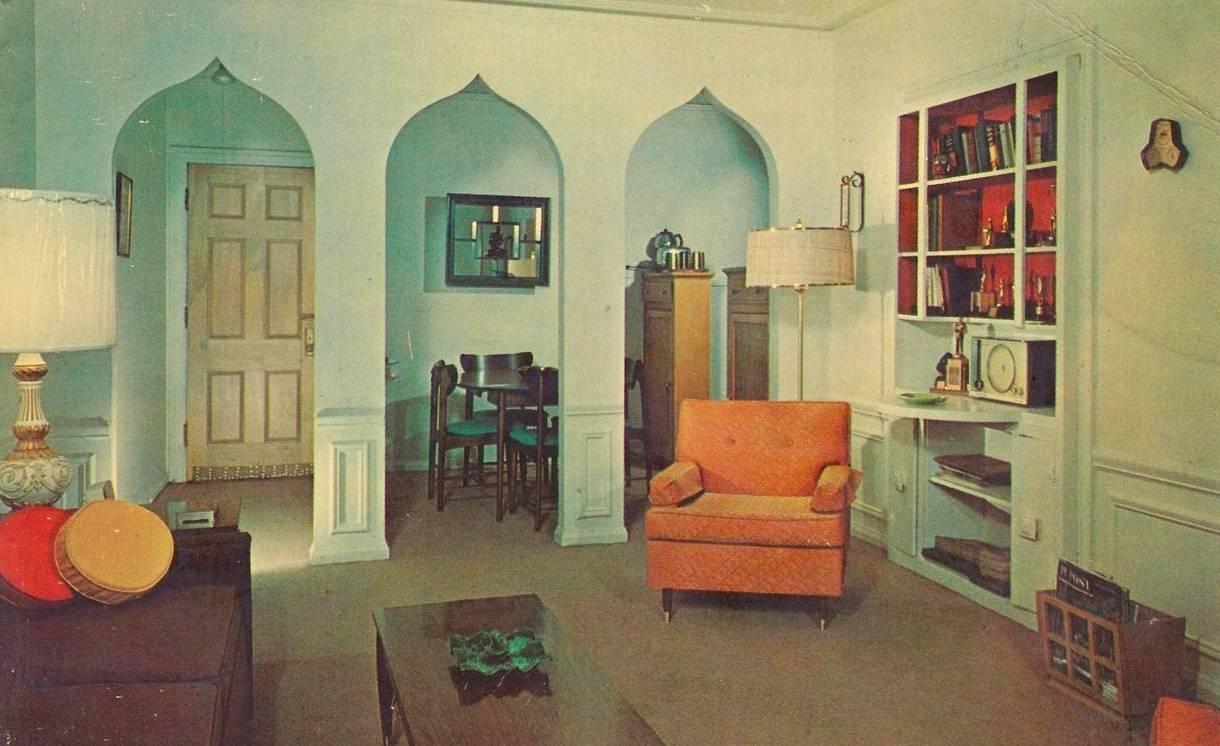 interior design 1950s home