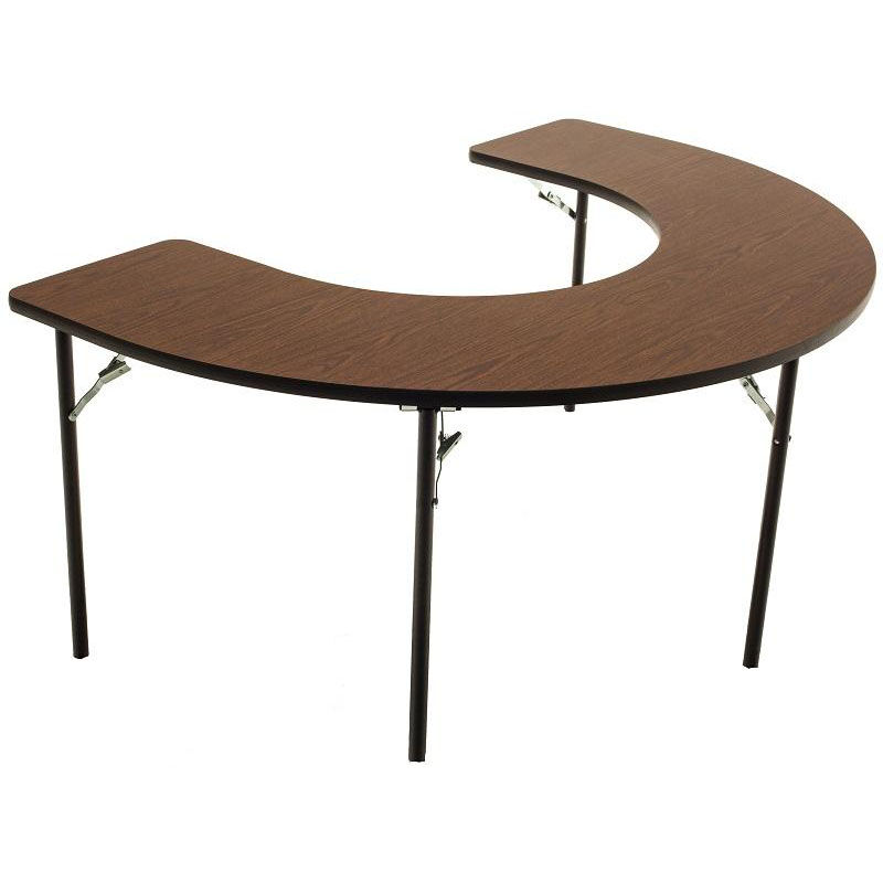 Adjustable Height Activity Table Horseshoe Adjustable Folding Table Af6001