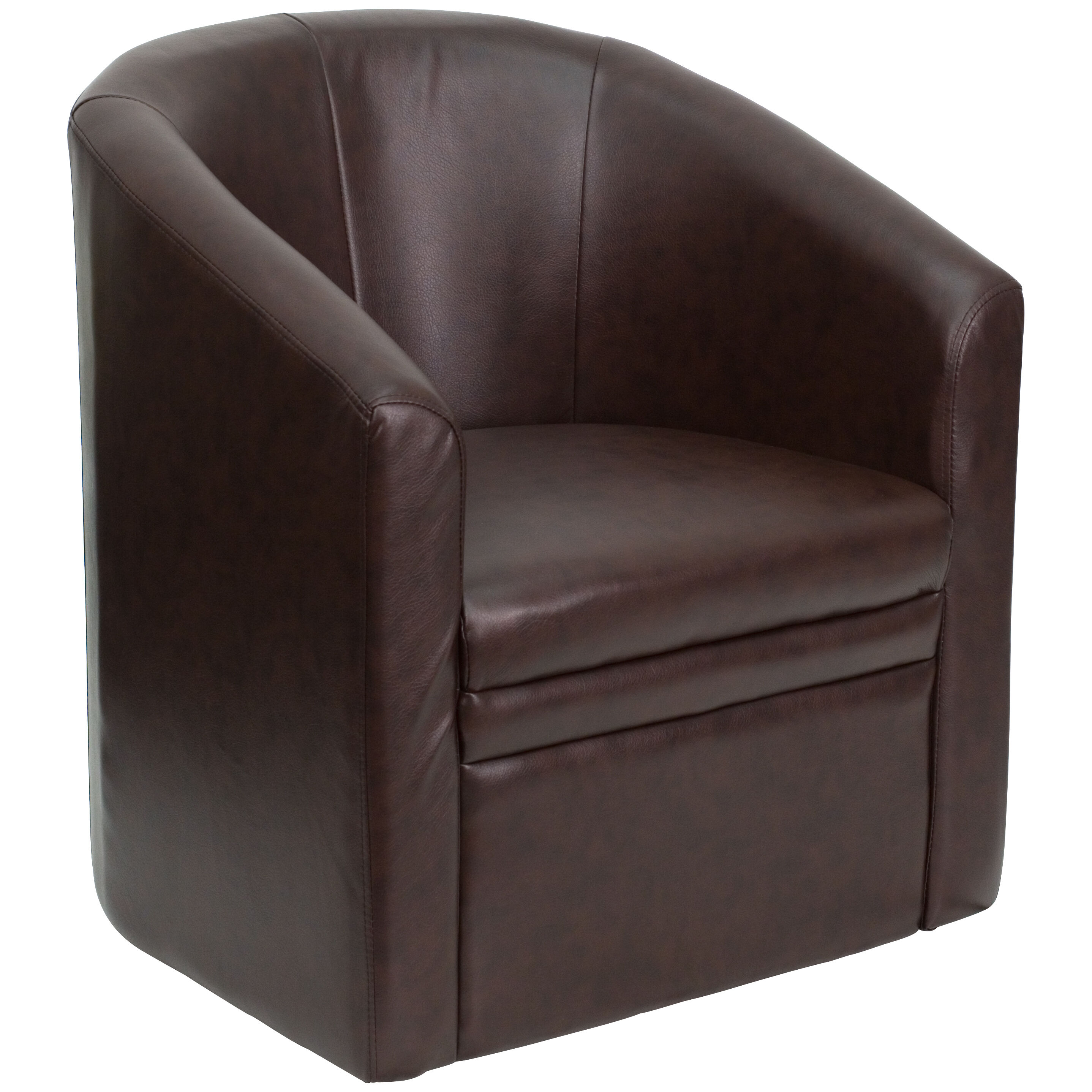 Brown Leather Chair Go S 03 Bn Full Gg Churchchairs4less Com