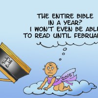 Resolving to Read the Bible Through -- Part I