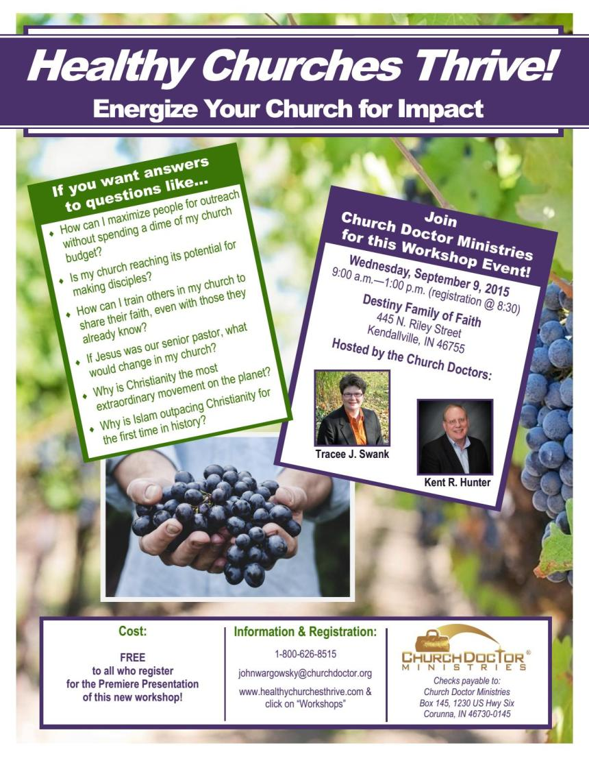 HCT!EnergizeYourChurchForImpact-KendallvilleIN-9-9-15
