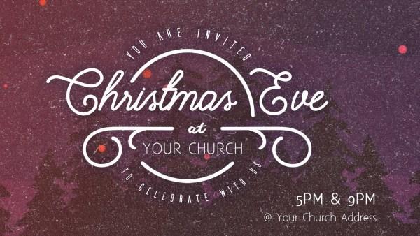 Christmas Eve Service Promo