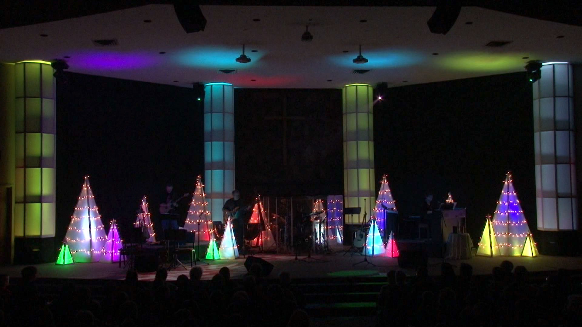 Stage Decoration Ideas Design A Christmas Tri Church Stage Design Ideas