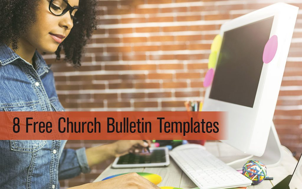 8 Free Church Bulletin Templates