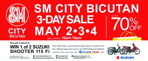 SM City Bicutan 3-Day Sale 02